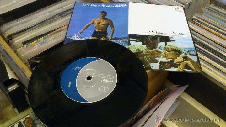 AINA 150 WATTS TEST DRIVE MARRY ME RECORDS MUY RARO! POST HARDCORE INDIE (Música - Discos de Vinilo - EPs - Grupos Españoles de los 90 a la actualidad)