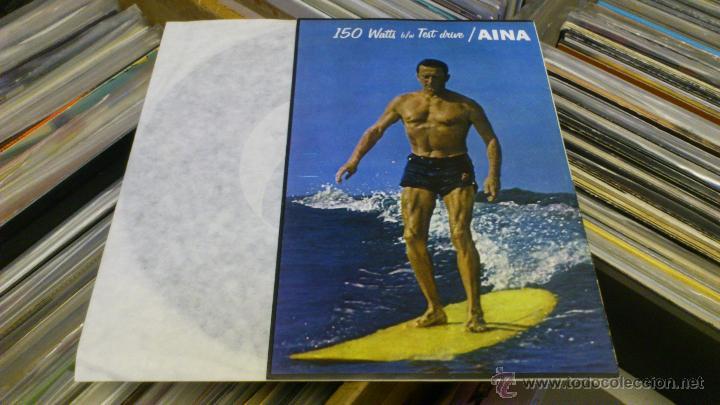 Discos de vinilo: Aina 150 watts Test drive Marry me Records Muy raro! Post Hardcore Indie - Foto 3 - 44045708