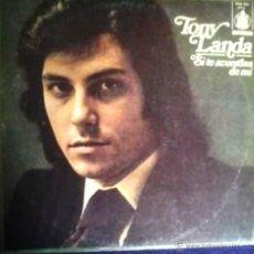 Discos de vinilo: LP DE TONY LANDA AÑO 1974 EDICIÓN ARGENTINA. Lote 26847066