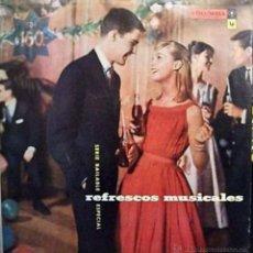 Discos de vinilo: LP ARGENTINO DE ARTISTAS VARIOS REFRESCOS MUSICALES AÑO 1958. Lote 27503101