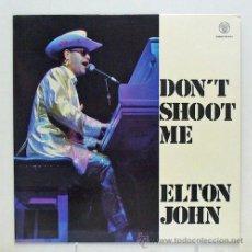 Discos de vinilo: ELTON JOHN - 'DON'T SHOOT ME I'M ONLY THE PIANO PLAYER' (LP VINILO). Lote 44053440