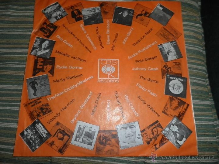 Discos de vinilo: TONY BENNETT - WHO CAN I TURN TO LP - ORIGINAL INGLES CBS 1965 STEREO - MUY NUEVO (5) - Foto 11 - 44054168