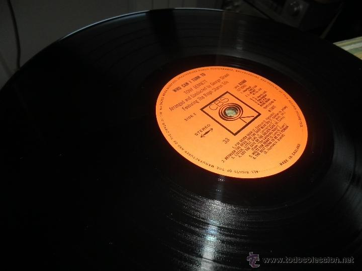 Discos de vinilo: TONY BENNETT - WHO CAN I TURN TO LP - ORIGINAL INGLES CBS 1965 STEREO - MUY NUEVO (5) - Foto 23 - 44054168