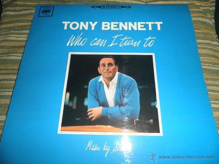 Discos de vinilo: TONY BENNETT - WHO CAN I TURN TO LP - ORIGINAL INGLES CBS 1965 STEREO - MUY NUEVO (5) - Foto 25 - 44054168