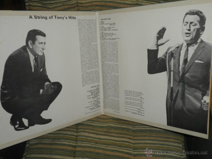 Discos de vinilo: TONY BENNETT - A STRING OF TONY´S HITS DOBLE LP - ORIGINAL INGLES CBS1966 STEREO - GATEFOLD COVER - - Foto 5 - 44054421
