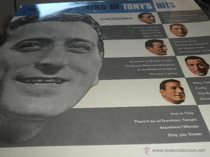Discos de vinilo: TONY BENNETT - A STRING OF TONY´S HITS DOBLE LP - ORIGINAL INGLES CBS1966 STEREO - GATEFOLD COVER - - Foto 10 - 44054421