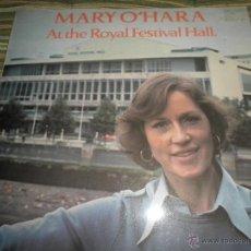 Discos de vinilo: MARY O´HARA - AT THE ROYAL FESTIVAL HALL LP - ORIGINAL INGLES - CHRYSALIS RECORDS 1977 -. Lote 44055116