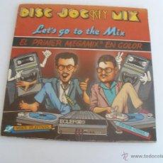 Discos de vinilo: DISC JOCKEY MIX - LET´S GO TO THE MIX VINILO AZUL. Lote 44060448