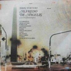 Discos de vinilo: LP ARGENTINO Y RECOPILATORIO DE ALFREDO DE ÁNGELIS Y SU ORQUESTA TÍPICA AÑO 1974. Lote 26227850