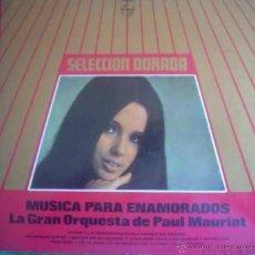 Discos de vinilo: LP DE LA GRAN ORQUESTA DE PAUL MAURIAT AÑO 1969 EN MONO EDICIÓN ARGENTINA. Lote 26469153