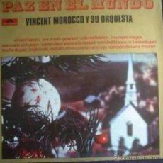 Discos de vinilo: LP NAVIDEÑO DE VINCENT MOROCCO Y SU ORQUESTA AÑO 1969 EDICIÓN ARGENTINA. Lote 27201540