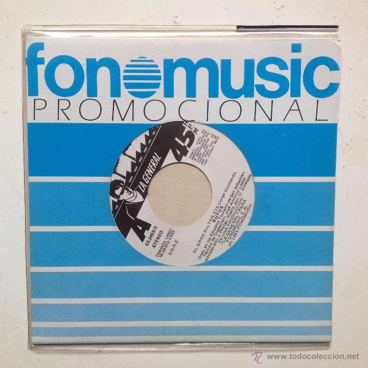 RUFUS SINGLE EL GRAN SULTAN +CHICA DEL SUR PROMOCIONAL (Música - Discos - Singles Vinilo - Grupos Españoles de los 70 y 80)