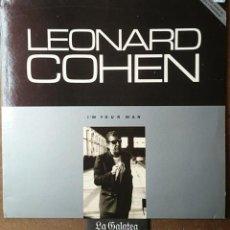 Discos de vinilo: LEONARD COHEN - I´M YOUR MAN - 1988 - CBS - ESPAÑA. Lote 44069457