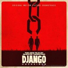 Discos de vinilo: 2LP DJANGO UNCHAINED BSO VINILO QUENTIN TARANTINO. Lote 98751224