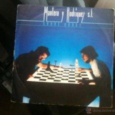 Discos de vinilo: MANTERO Y RODRIGUEZ S.L. - SINGLE - SOBRE ONDAS/LA RECETA (CBS 1981). Lote 44074654