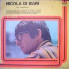 Discos de vinilo: LP COMPILATORIO DE NICOLA DI BARI AÑO 1978 CANTADO EN ESPAÑOL EDICIÓN ARGENTINA. Lote 26851698