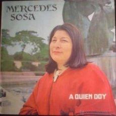 Discos de vinilo: LP ARGENTINO DE MERCEDES SOSA AÑO 1981. Lote 26531015