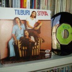 Discos de vinilo: TILBURI SINGLE SYLVIA MOVIEPLAY FOLK ROCK MADRILEÑO 70S SPAIN. Lote 44084150