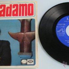 Discos de vinilo: ADAMO - TU NOMBRE + 3 - EP - LA VOZ DE SU AMO 1966 SPAIN. Lote 44087763