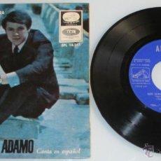 Disques de vinyle: ADAMO - MIS MANOS EN TU CINTURA + 3 - CANTA EN ESPAÑOL - EP - LA VOZ DE SU AMO 1966 SPAIN. Lote 44087802