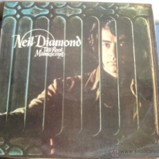 Discos de vinilo: NEIL DIAMOND TAP ROOT MANUSCRIPT. Lote 44089750