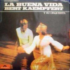 Discos de vinilo: LP ARGENTINO DE BERT KAEMPFERT Y SU ORQUESTA AÑO 1973. Lote 26913652