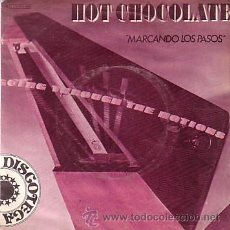 Discos de vinilo: HOT CHOCOLATE - GOING THROUGH THE MOTIONS / STAY WITH ME - SINGLE EMI 1979. Lote 44096070