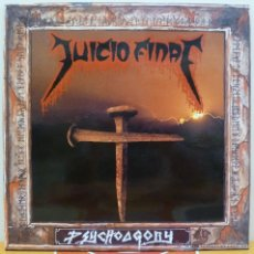 Discos de vinilo: JUICIO FINAL - PSYCHOAGONY (LP WALKIRIA 1993) TRASH METAL · NUEVO. Lote 44102224