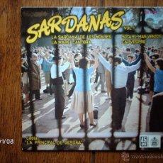 Discos de vinilo: COBLA LA PRINCIPAL DE GERONA - SARDANAS VOL. 1 - LA SARDANA DE LES MONJES + 3 . Lote 44102491
