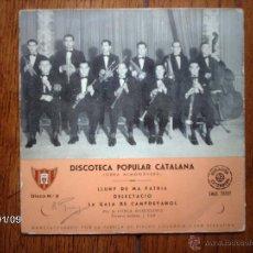 Discos de vinilo: COBLA BARCELONA - DISCOTECA POPULAR CATALANA - DISCO Nº 2 - LLUNY DE MA PATRIA . Lote 44102690