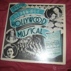 Discos de vinilo: THE GOLDEN AGE OF THE HOLLYWOOD MUSICAL LP TROQUELADO VER FOTO. Lote 44105176