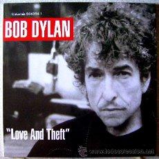 Discos de vinilo: BOB DYLAN.LOVE AND THEFT 1ª EDICION ORIGINAL...DOBLE LP....NM....JOYA. Lote 44105844