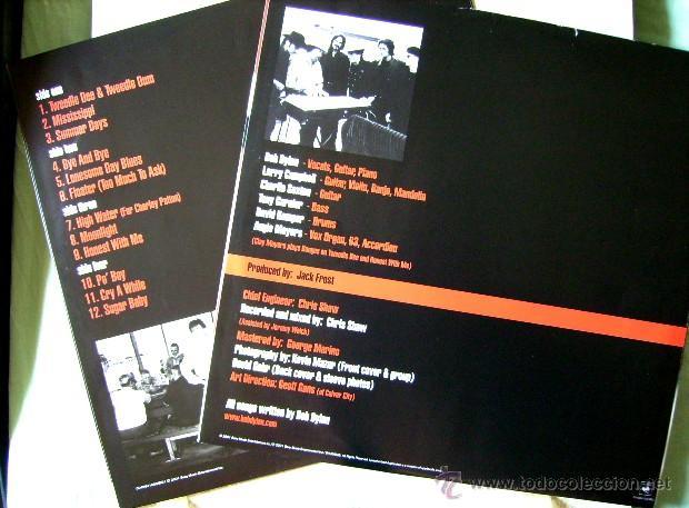 Discos de vinilo: BOB DYLAN.LOVE AND THEFT 1ª EDICION ORIGINAL...DOBLE LP....NM....JOYA - Foto 3 - 44105844