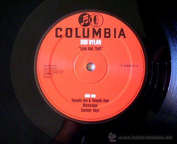 Discos de vinilo: BOB DYLAN.LOVE AND THEFT 1ª EDICION ORIGINAL...DOBLE LP....NM....JOYA - Foto 6 - 44105844