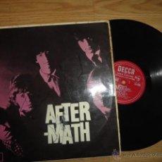 Discos de vinilo: LP AFTERMATH THE ROLLING STONES 1966 ENGLAND LK 4786 RED ¿FIRMADO POR MIKE JAGGER?. Lote 44108000