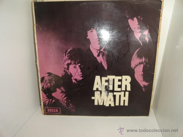 Discos de vinilo: LP AFTERMATH THE ROLLING STONES 1966 ENGLAND LK 4786 RED ¿FIRMADO POR MIKE JAGGER? - Foto 4 - 44108000