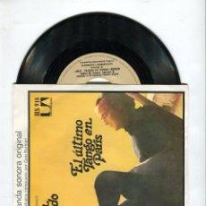 Discos de vinilo: BSO EL ULTIMO TANGO EN PARIS COMPOSITOR GATO BARBIERI UNITED ARTISTICS RECORDS AÑO 1973. Lote 44113721