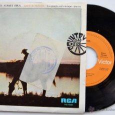 Discos de vinilo: DAVE & SUGAR-THE DOOR IS ALWAYS OPEN/LATE NITE COUNTRY LOVIN' MUSIC-SINGLE-1976-RCA- SPÑ. Lote 44122221