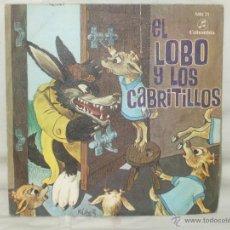 Discos de vinilo: EL LOBO Y LOS CABRITOS. Lote 44123001