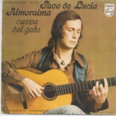 Disques de vinyle: PACO DE LUCIA,ALMORAIMA DEL 76. Lote 44127774
