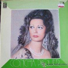 Discos de vinilo: LA OBRA DE CONCHA PIQUER-LA NIÑA DE LA ESTACION. Lote 44128564