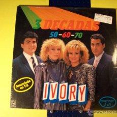 Discos de vinilo: IVORY- 3 DECADAS-2 LPS. Lote 44136330