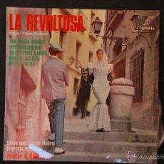 Discos de vinilo: LA REVOLTOSA- L.SILVA/F.SHAW/R.CHAPI. Lote 44136543