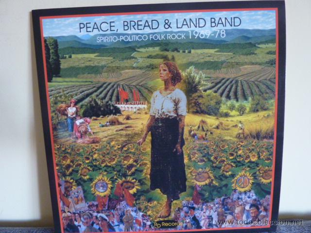 PEACE, BREAD & LAND BAND.-SPIRITO-POLITICO FOLK ROCK 1969-78 / PSYCH USA (Música - Discos - LP Vinilo - Pop - Rock Extranjero de los 50 y 60)