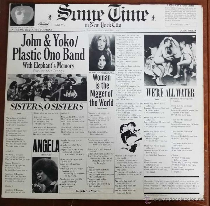 JOHN LENNON & YOKO ONO / PLASTIC ONO BAND ( LIVE JAM - SOMETIME IN NEW YORK CITY ) USA-1978 2LPS (Música - Discos - LP Vinilo - Pop - Rock - Internacional de los 70)