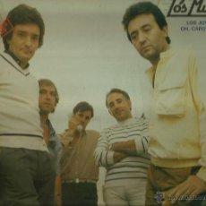 Discos de vinilo: LOS MUSTANG LP SELLO DISCOSA AÑO 1982. Lote 44139489