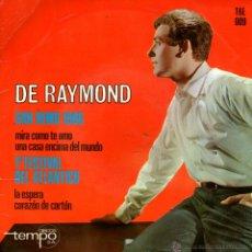 Discos de vinilo: RAYMOND. SAN REMO 1966. 1R FESTIVAL DEL ATLANTICO. Lote 44141277