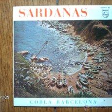 Discos de vinilo: COBLA BARCELONA - SARDANAS - GIRONA AIMADA + 3. Lote 44141805