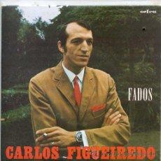 Discos de vinilo: CARLOS FIGUEIREDO (FADOS) / SEVERA SEVERA / HEI-D NEGAR-TE O PERDAO + 2 (EP PORTUGUES). Lote 44142305