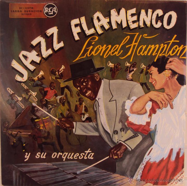 Discos de vinilo: LIONEL HAMPTON: JAZZ FLAMENCO. RCA AÑOS 50 - Foto 1 - 44152655